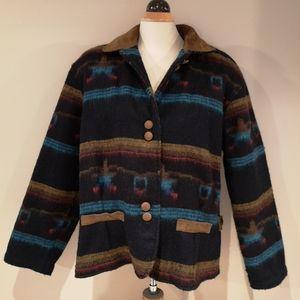 Vintage Woolrich Aztec Jacket